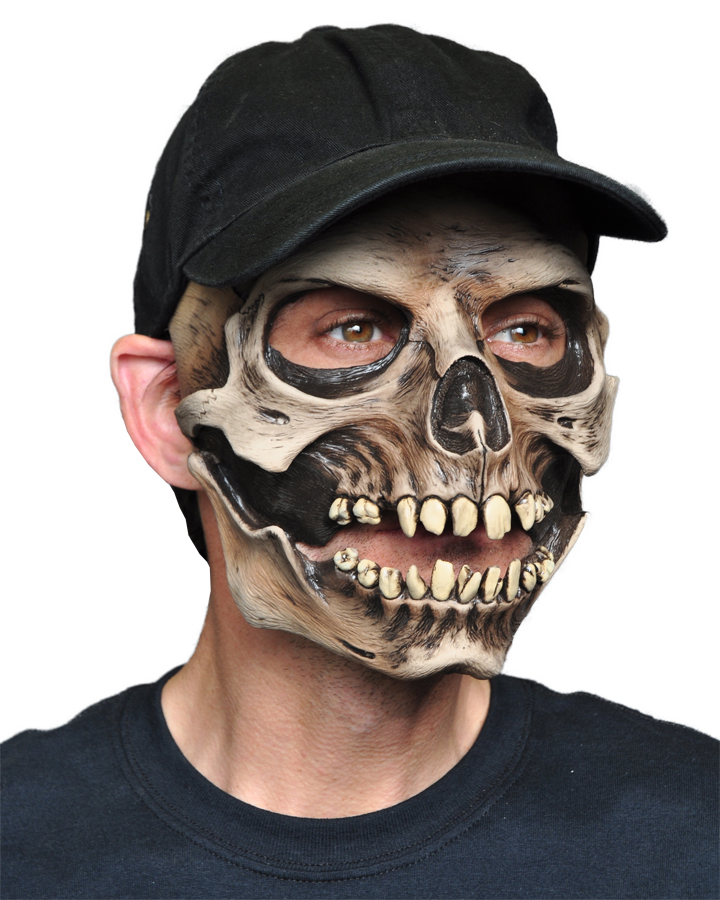 Featured Image for Skull Latex Mask with Cap