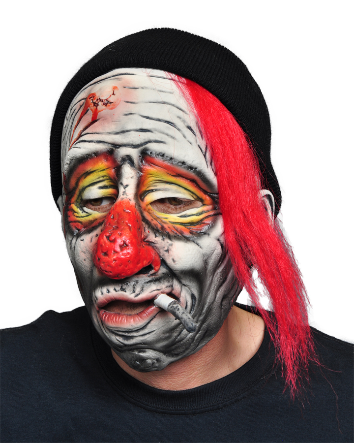 Featured Image for Whiskey the Clown Mask