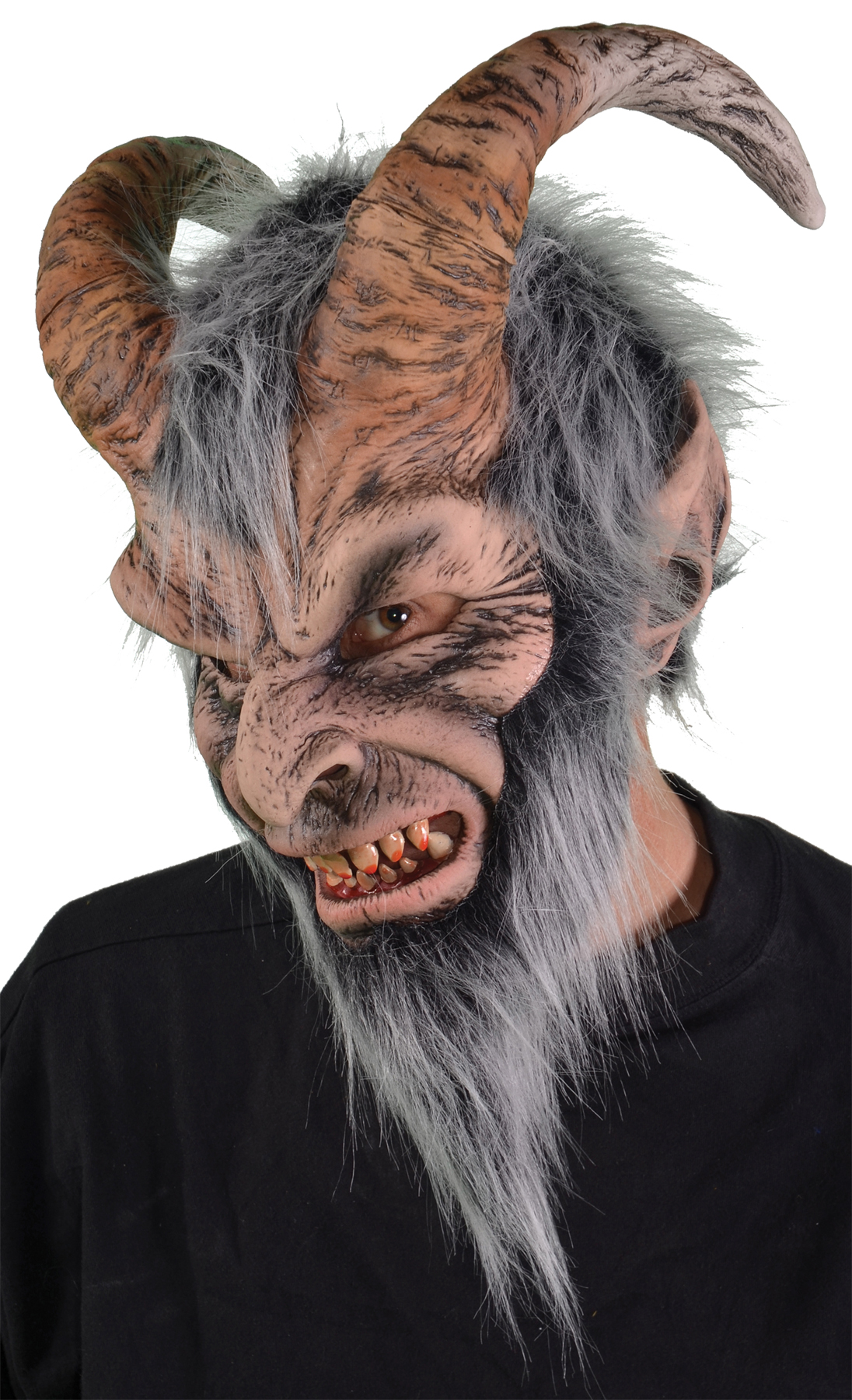 Featured Image for Krampus Latex Mask