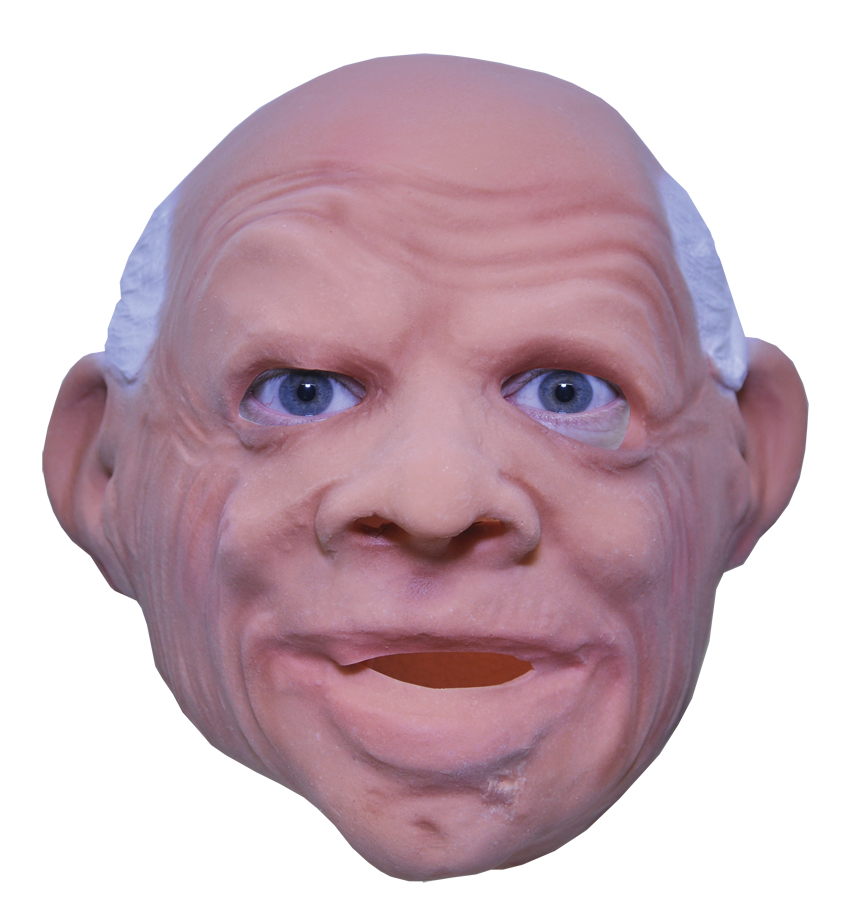 Featured Image for Gramps Overhead Latex Mask
