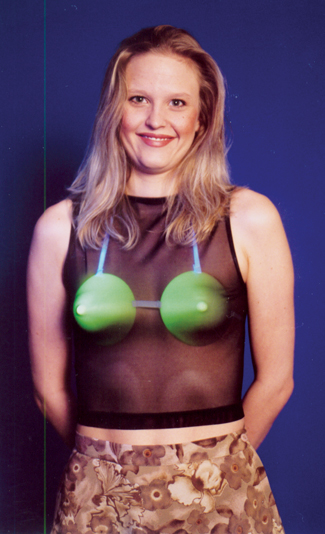 Featured Image for Glow-in-the-Dark Bra