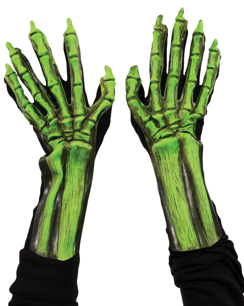 Featured Image for UV Green Skeleton Hands