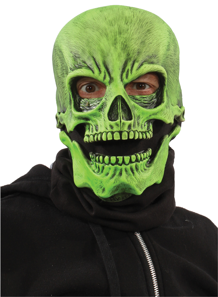 Featured Image for UV Green Sock Skull Mask