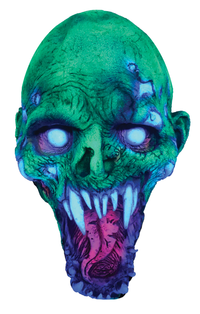 Featured Image for UV Schell Shocked Latex Mask