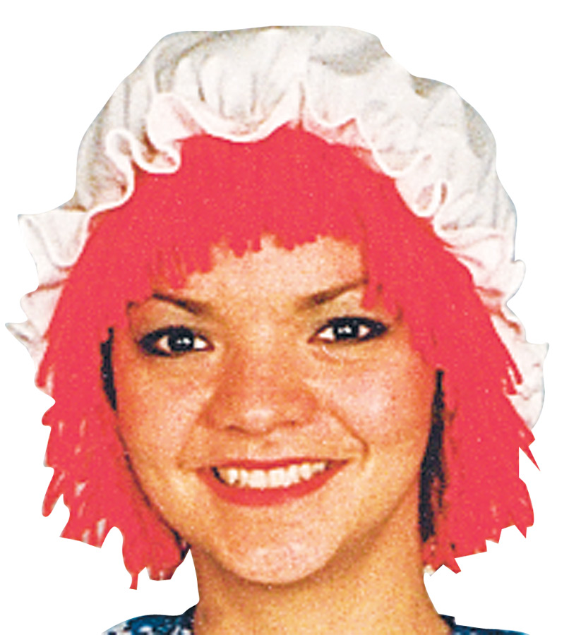 Featured Image for Raggedy Ann Wig with Hat