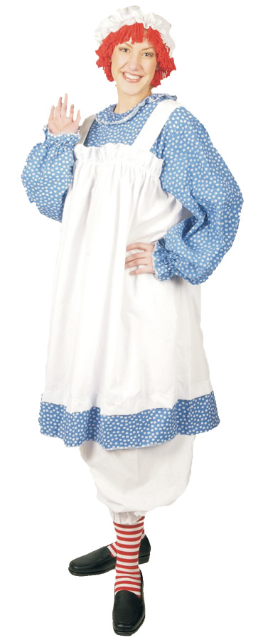 Featured Image for Women's Plus Size Raggedy Ann Costume