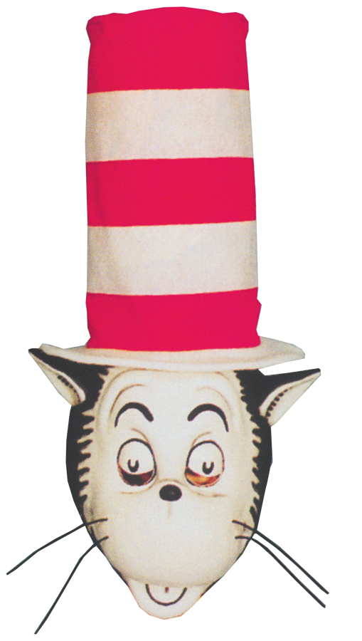 Featured Image for Cat In the Hat Mask & Hat