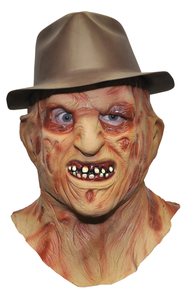 Featured Image for Freddy Krueger Latex Mask & Hat