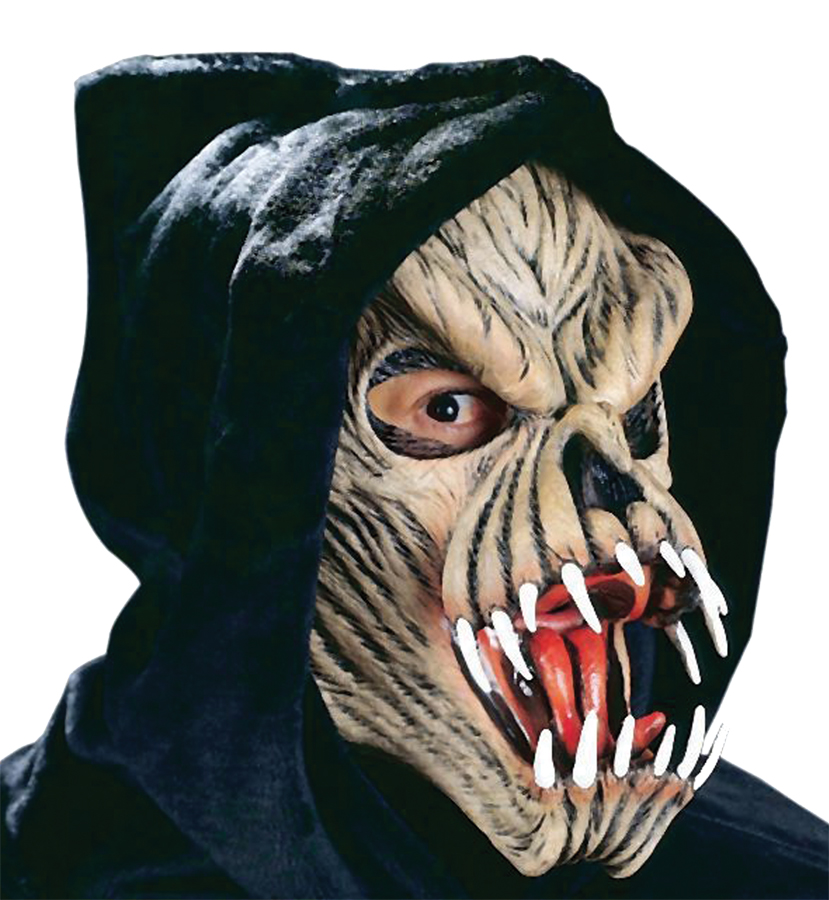 Featured Image for Fang Face Latex Mask