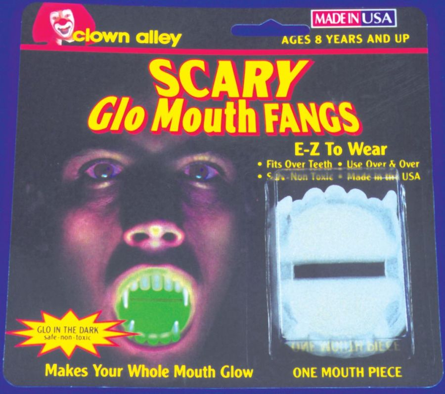 Featured Image for Glow-in-the-Dark Fangs