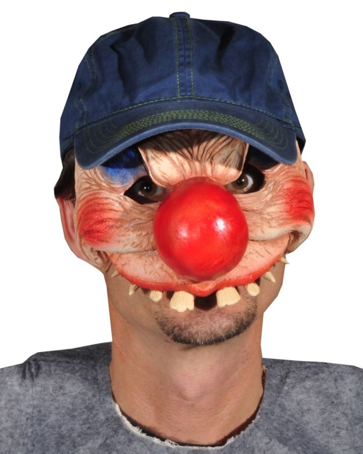 Featured Image for Clowning Around Latex Mask