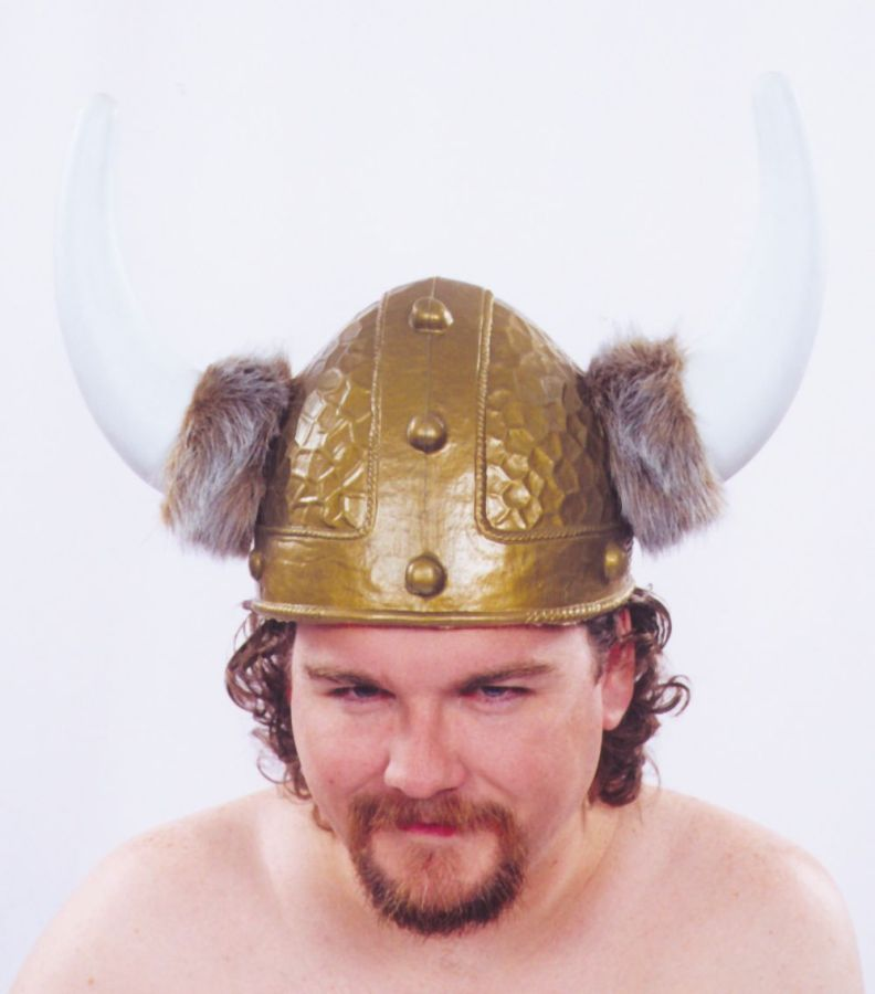 Featured Image for Viking Helmet Gold 1