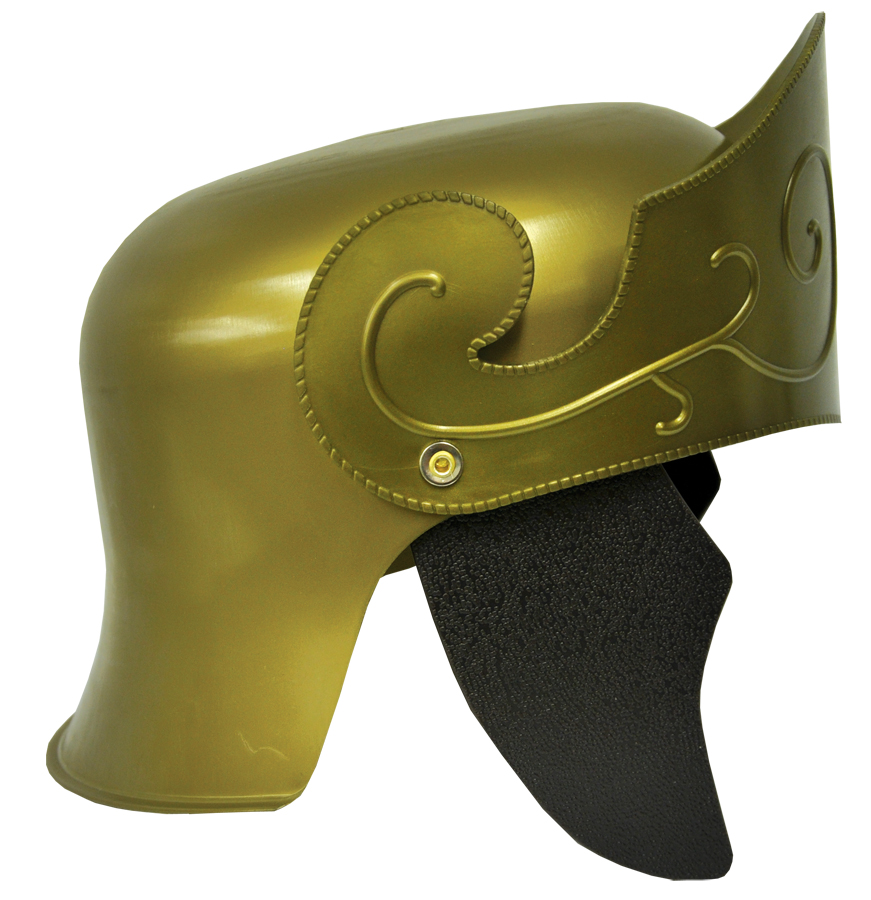 Featured Image for Roman Helmet Gold with No Crest