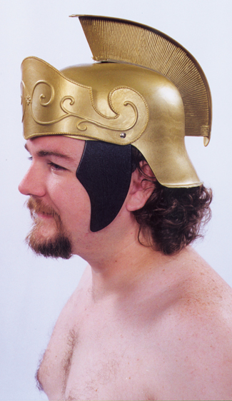 Featured Image for Roman Helmet Gold with Gold Crest