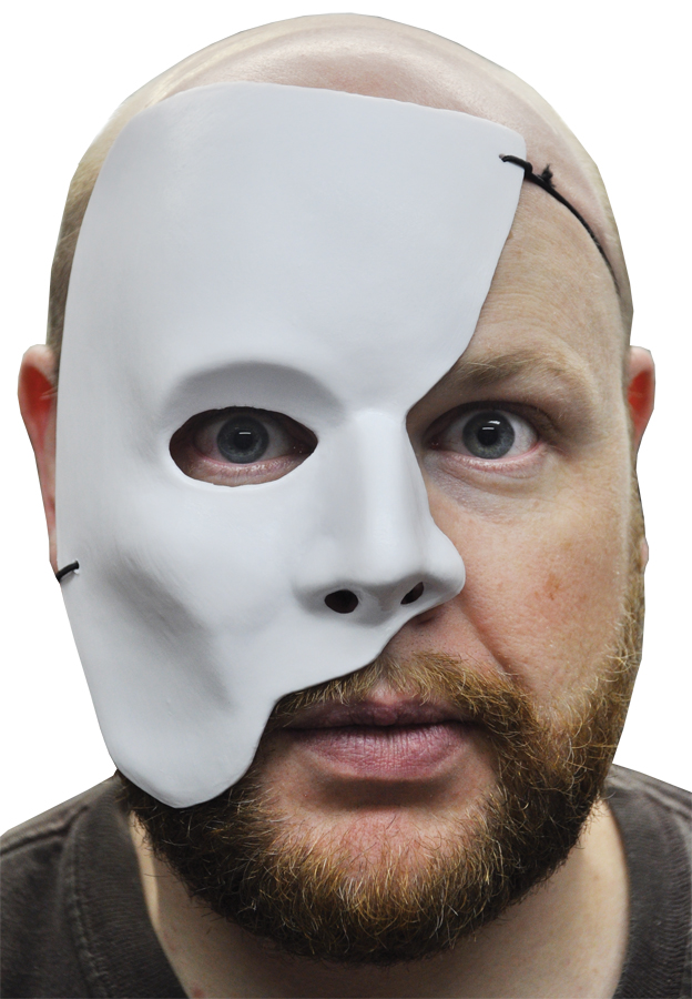Featured Image for White Partial Face Mask