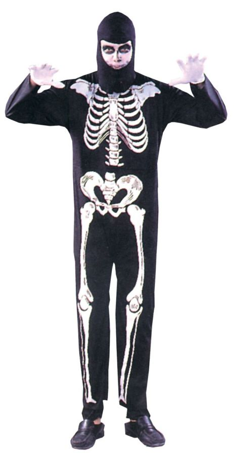 Featured Image for Skeleton Costume