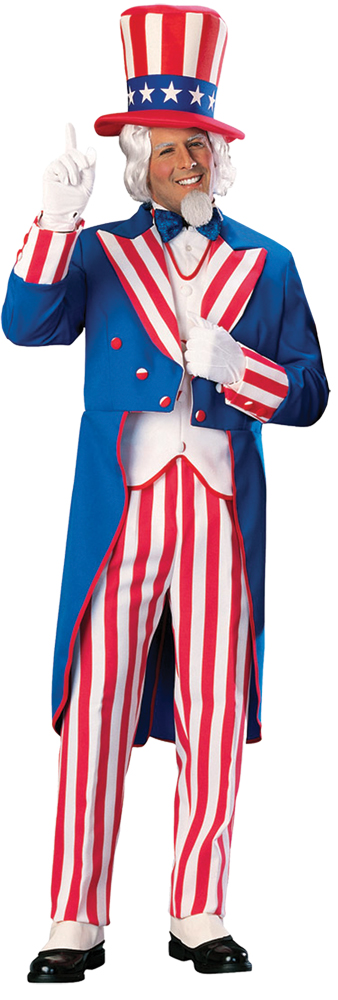 Featured Image for Men's Uncle Sam Costume
