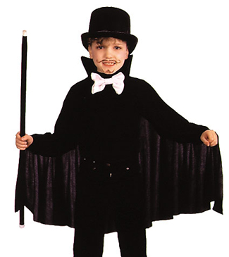 Featured Image for 26″ Black Cape with Collar