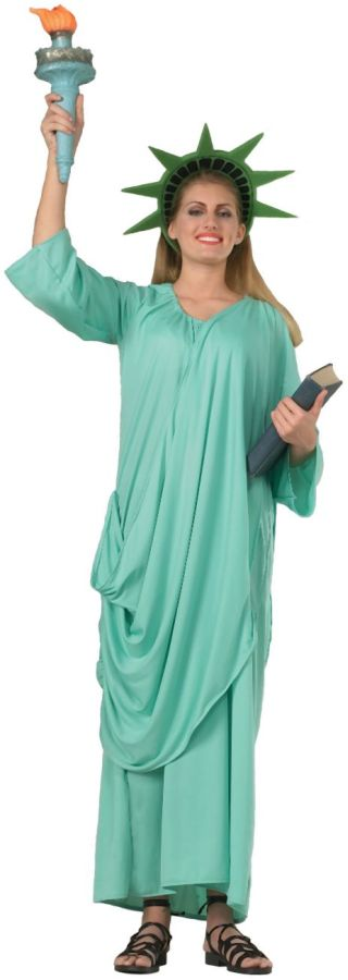 Featured Image for Women's Statue Of Liberty Costume