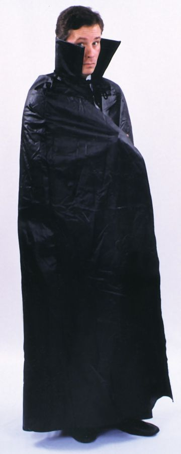 Featured Image for 45″ Floor Length Black Cape