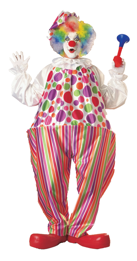Featured Image for Adult Harpo Hoop Clown Costume