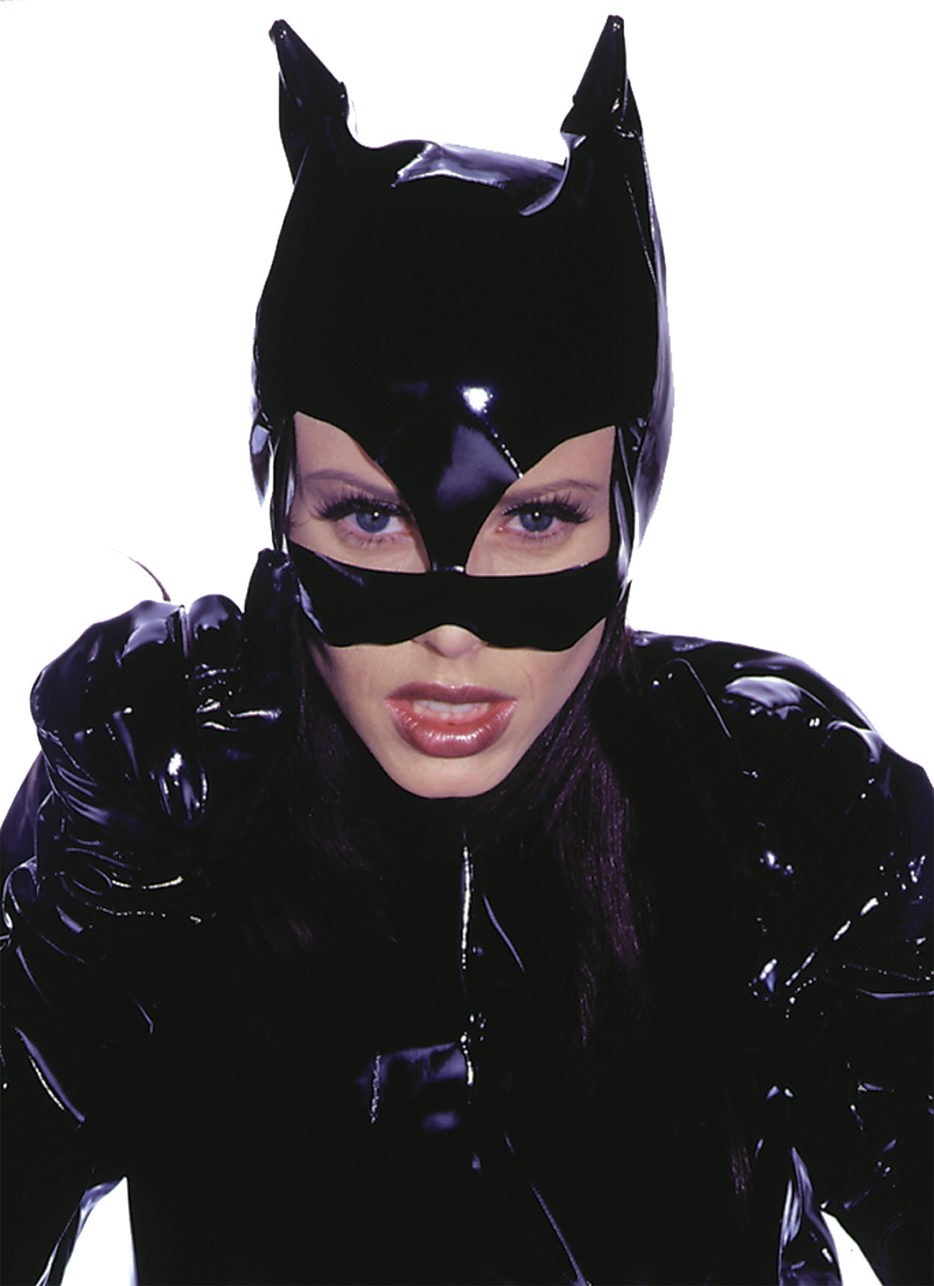 Featured Image for Women's Faux-Leather Kitty Mask