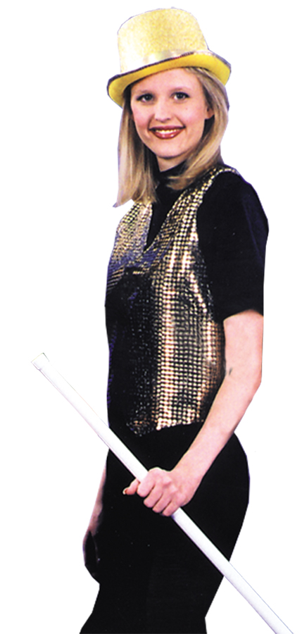 Featured Image for Vest Sequin Gold Small