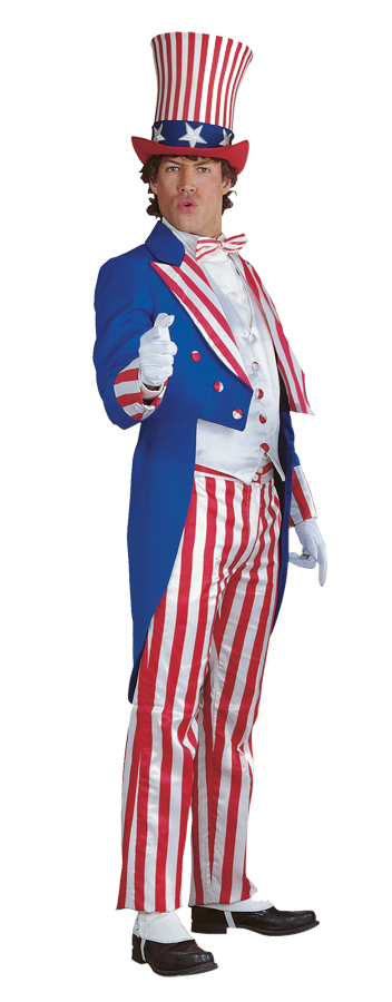 Featured Image for Uncle Sam Costume Medium Deluxe