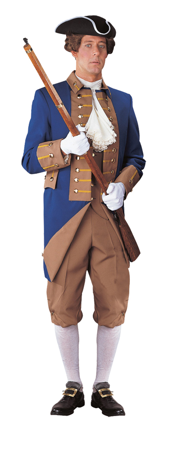 Featured Image for Men's American Revolutionary Officer Uniform