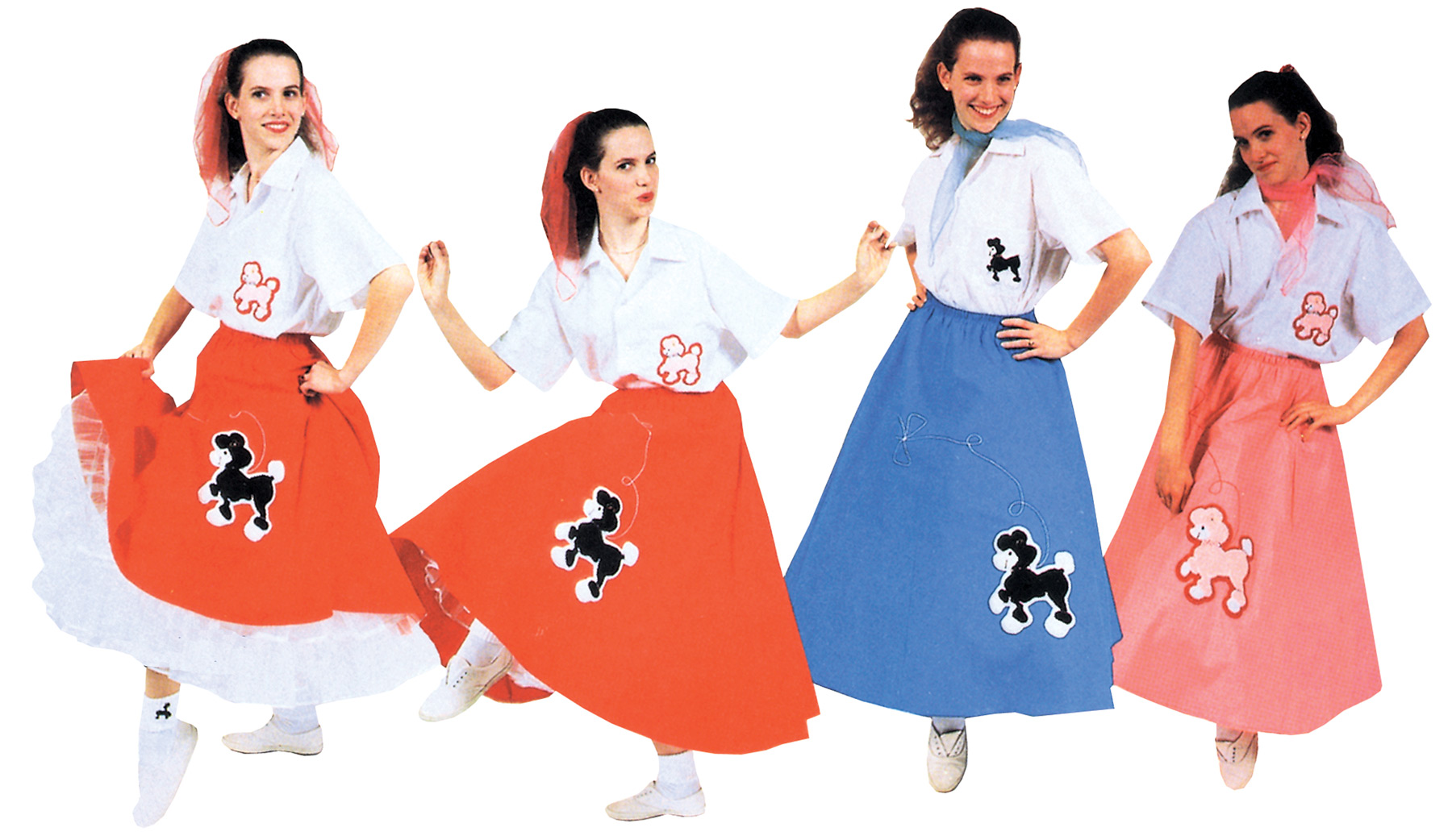 Featured Image for Women's Poodle Skirt
