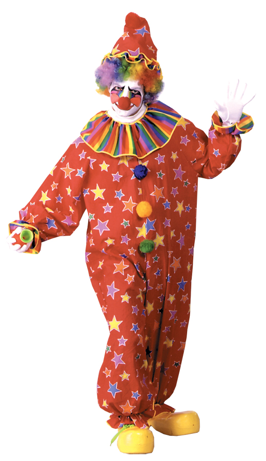 Featured Image for Adult Starburst Clown Costume