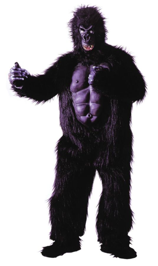 Featured Image for Adult Gorilla Costume with Muscle Chest