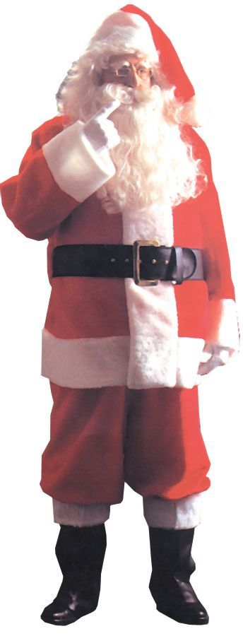 Featured Image for Men's Santa Suit Plush 5591