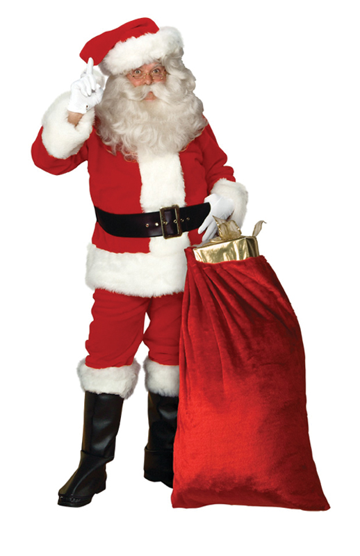 Featured Image for Men's Santa Suit Deluxe 9191