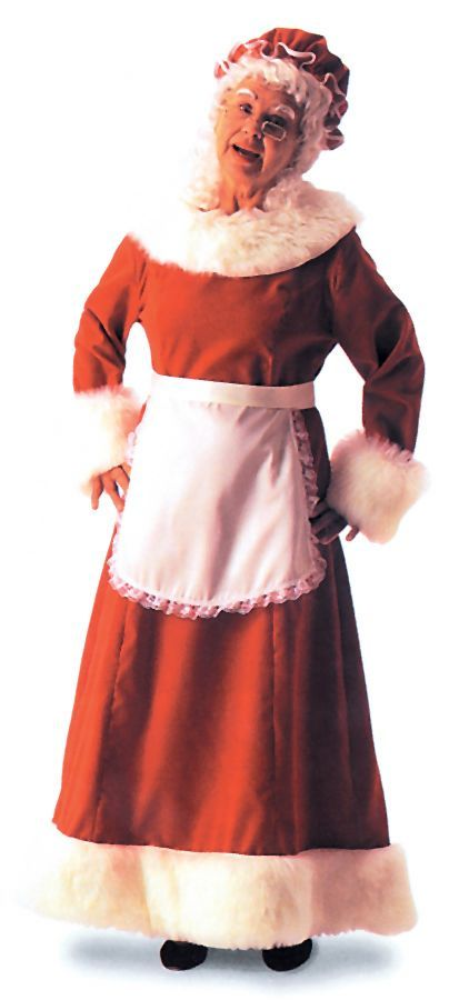 Featured Image for Women's Santa Dress Long