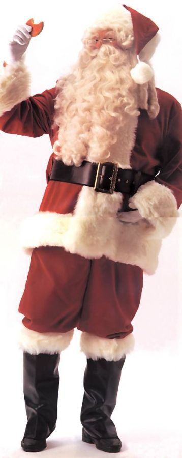 Featured Image for Men's Santa Suit Deluxe Velvet