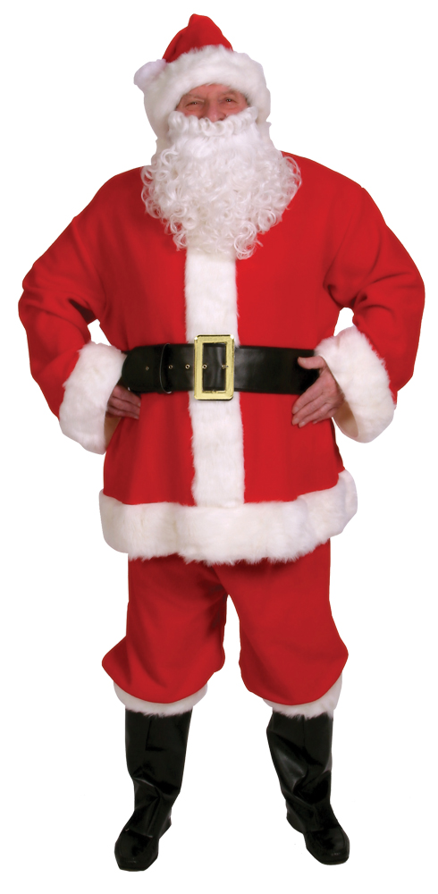 Featured Image for Men's 10-Piece Complete Santa Suit