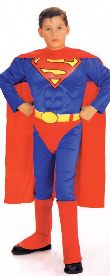 Featured Image for Boy's Deluxe Muscle Chest Superman Costume