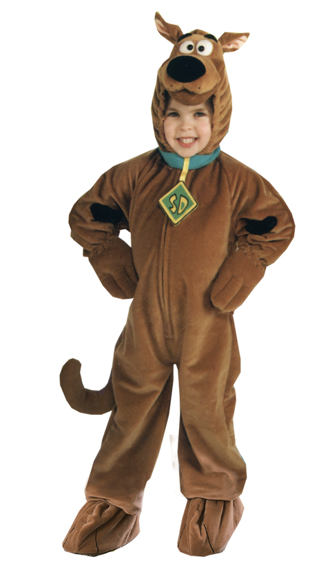 Featured Image for Child's Deluxe Velour Scooby-Doo Costume