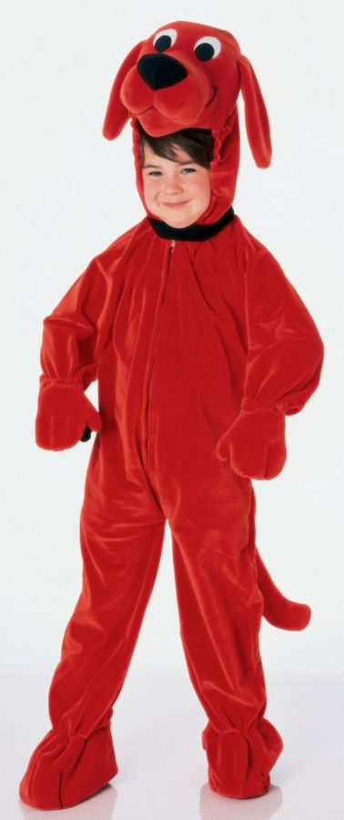 Featured Image for Child's Clifford Costume
