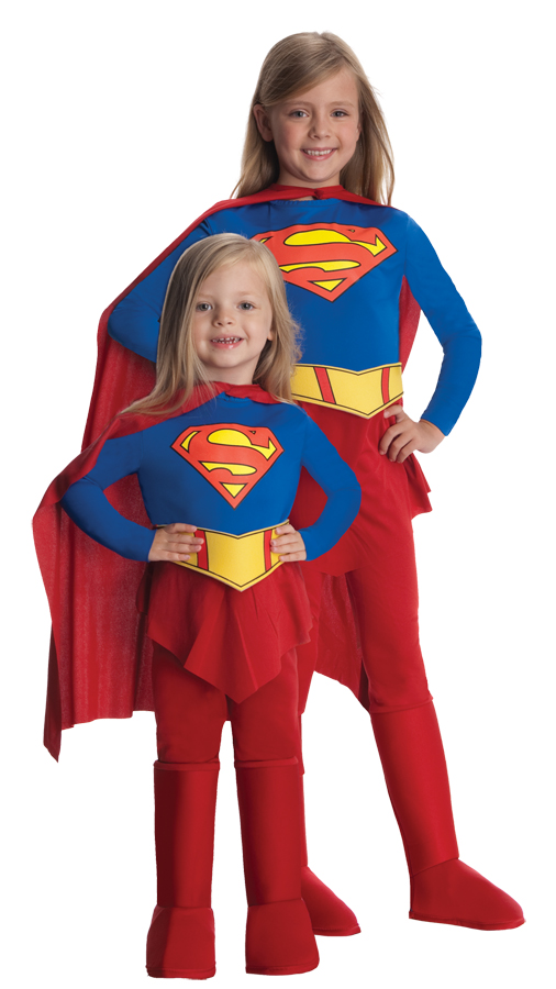 Featured Image for Girl's Supergirl Costume