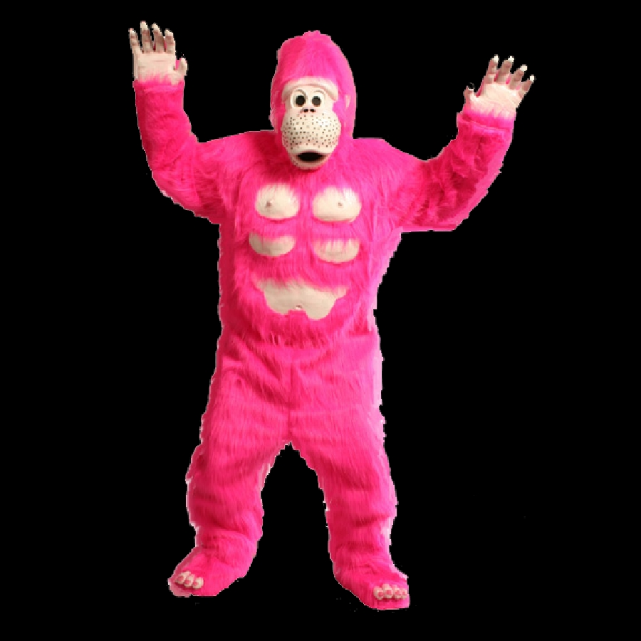 Featured Image for Comical Pink Gorilla Mascot