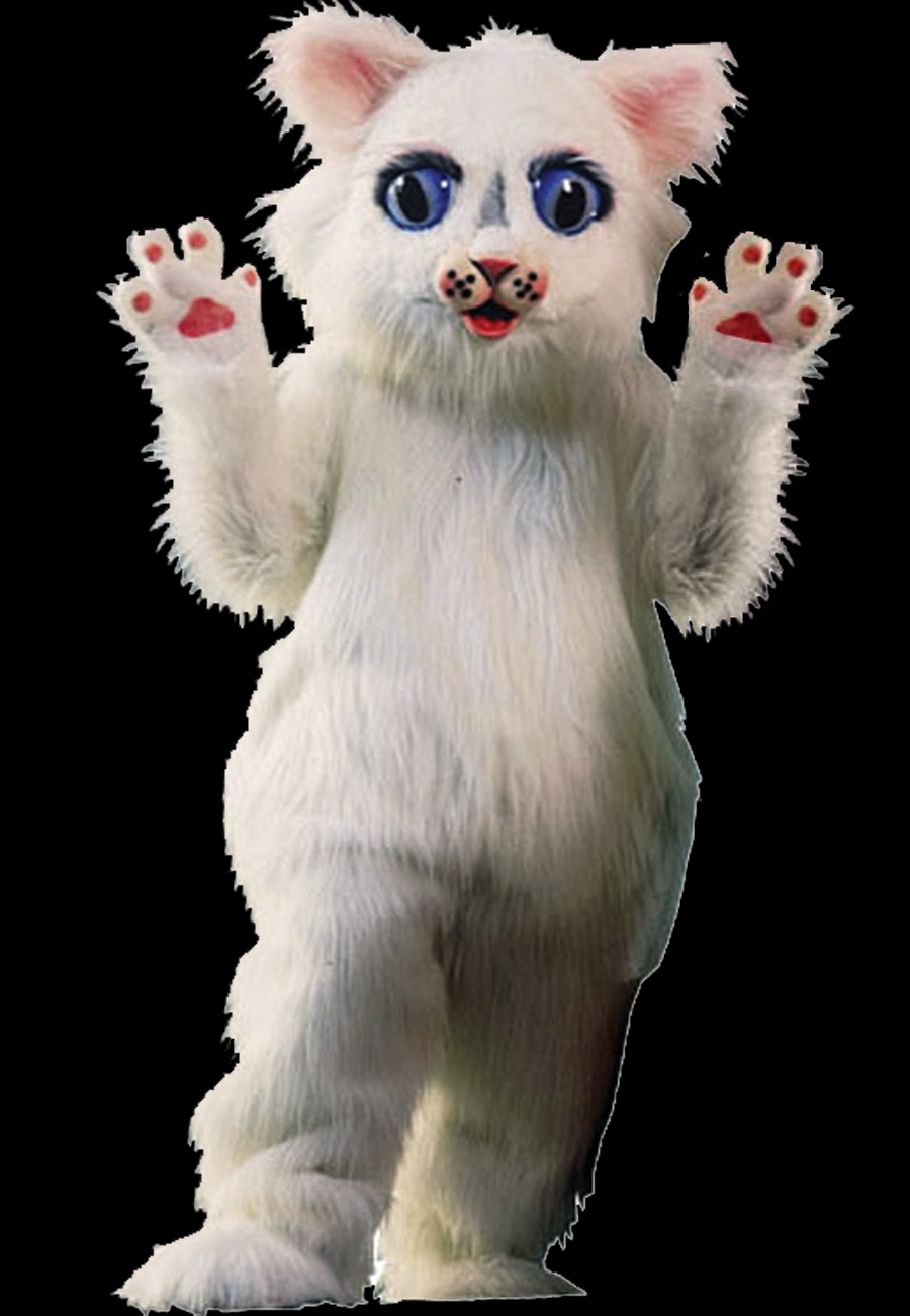 Featured Image for Snow Ball Kitty Mascot
