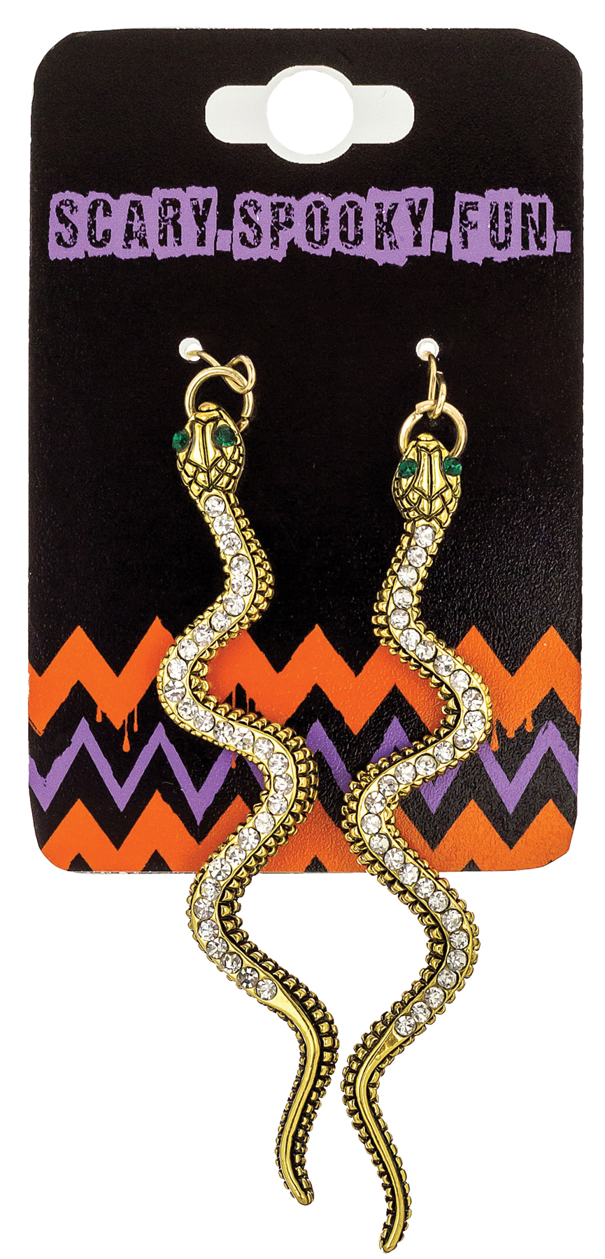 Featured Image for Snake Earrings