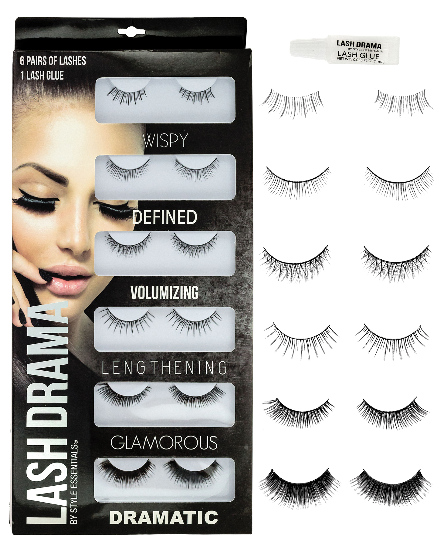Featured Image for Eye Lashes Set – 6 Pairs