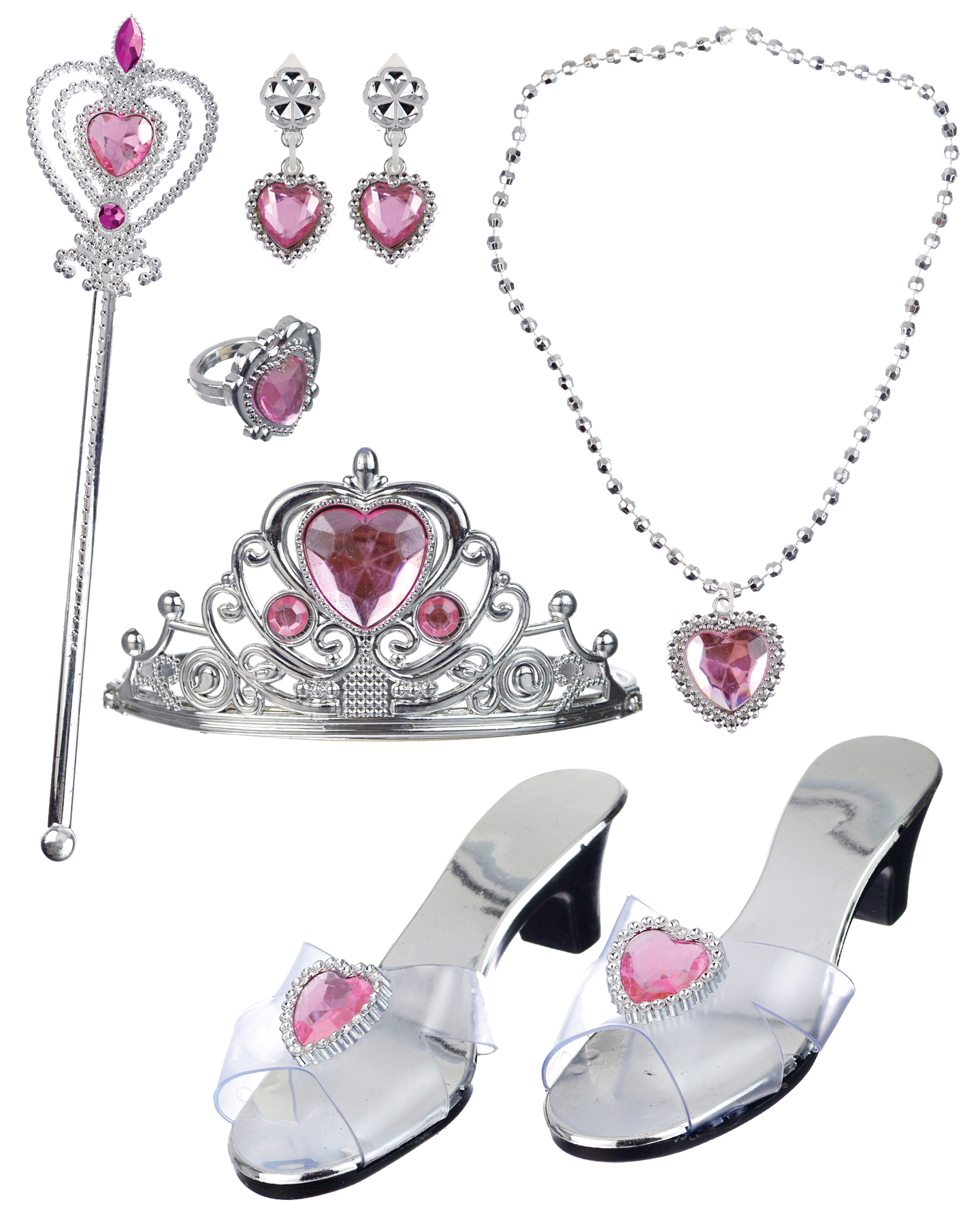 Featured Image for Girl's Pink Princess Dress Up Kit
