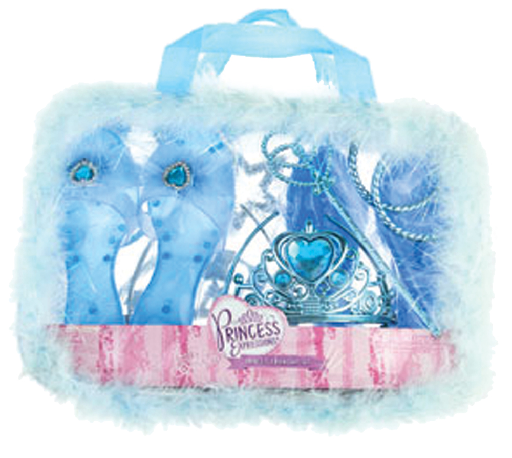 Featured Image for Girl's Blue Princess Dress Up Kit for 2