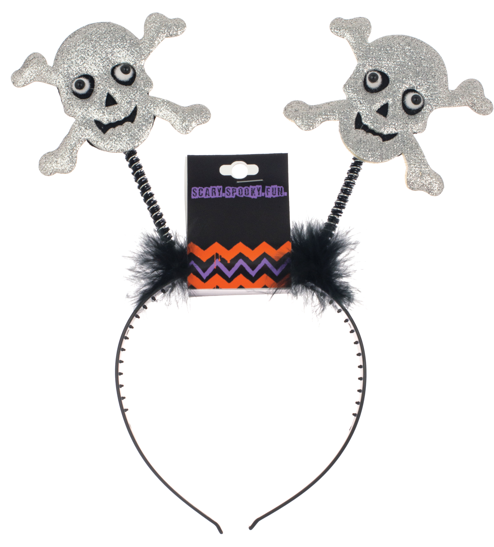 Featured Image for Skull Bopper Headband