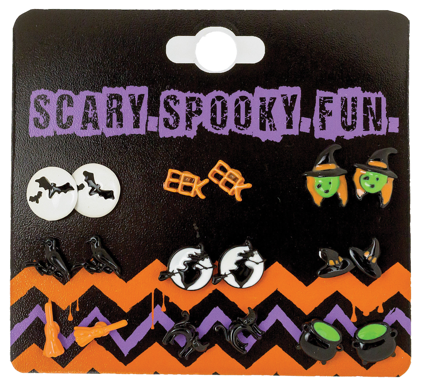 Featured Image for Earrings W/Spooky Character