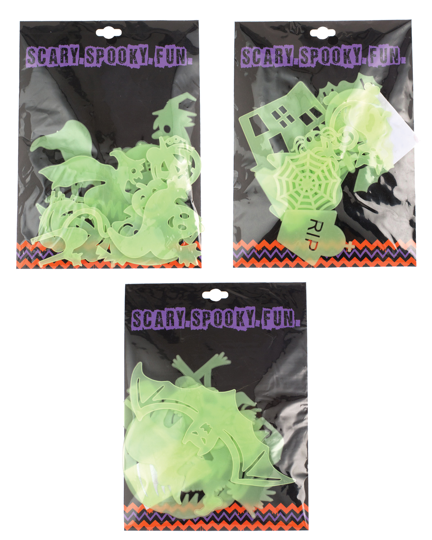 Featured Image for Halloween Plastic Wall Clings